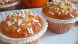 Ricetta per realizzare Muffin all'arancia leggeri